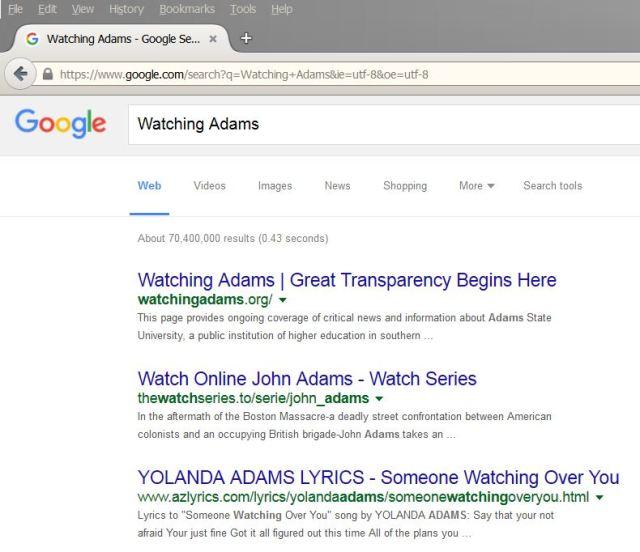 WA search
