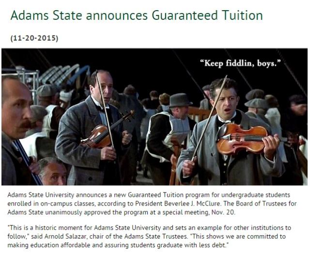 ASU-Titanic-Tuition